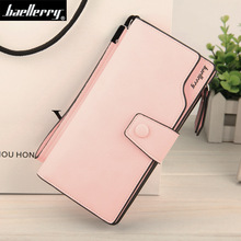 Baellerry version Casual High quality Soft Cover Car suture Women Colorful Wallet Female Clutch Zipper Buckle Purse Women Purse(China (Mainland))