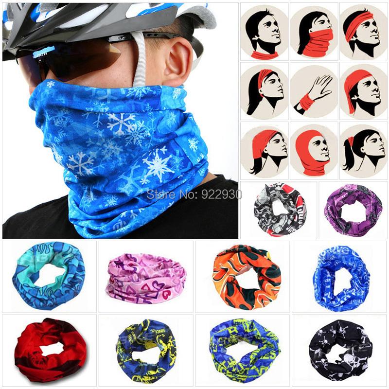 Outdoor Sports Cycling cycle Bike Bicycle Riding Variety Turban Magic Headband Veil Multi Head Scarf Scarves Face Mesh Bandanas(China (Mainland))