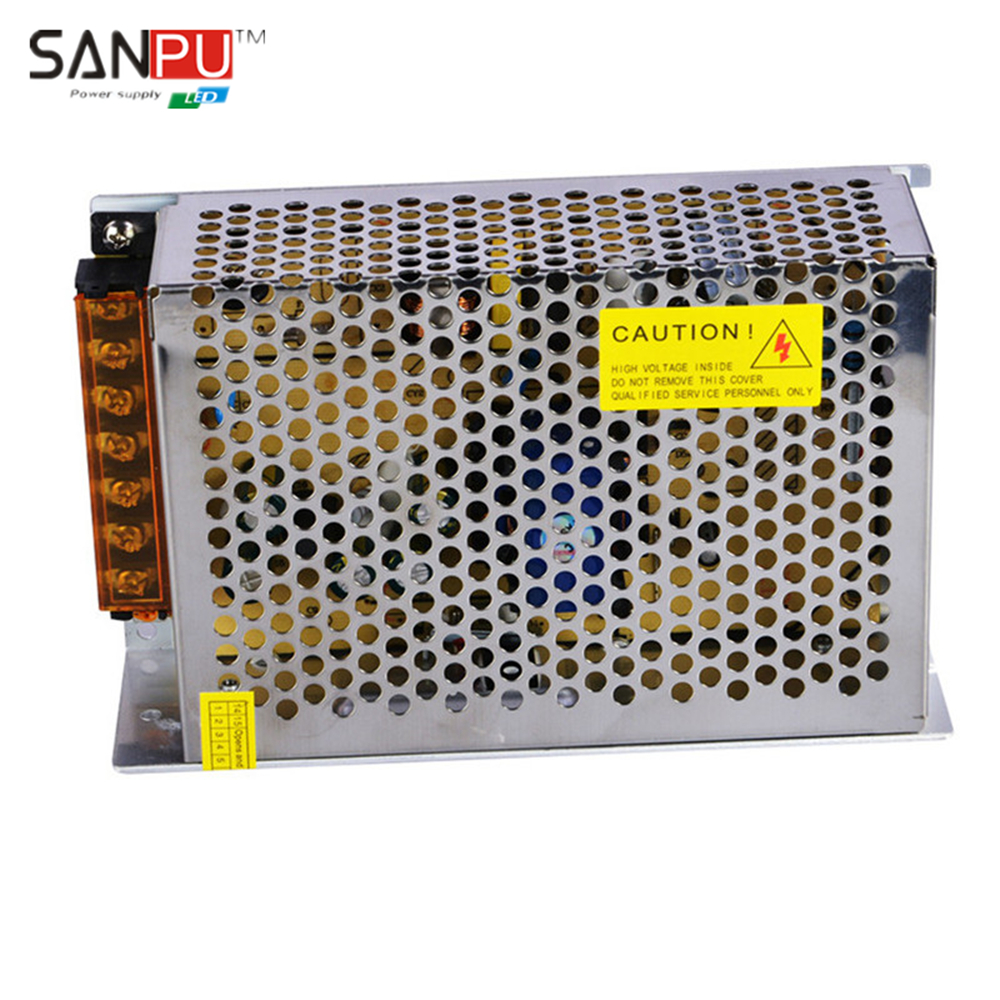 SANPU SMPS LED Power Supply 24v 5a 120w Constant Voltage Switching Driver 110v 120v ac-dc Lighting Transformer for LEDs Strips(China (Mainland))