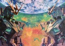 Free shipping Mobile Suit Gundam Unicorn UC Japan Anime Art Silk Poster 36×24″ GUND13 SALE !