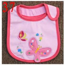 Baby Bibs Cotton Bandana Bibs Infant Babador Saliva Bavoir Towel baberos bebes Babadores Newborn Baby Girls Boys 2pcs/lot  xwd37
