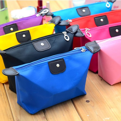 New High Quality Nylon Women Lady Travel Cosmetic Makeup Pouch Storage Bag Clutch Handbag Casual Purses Holders Pockets toiletry(China (Mainland))