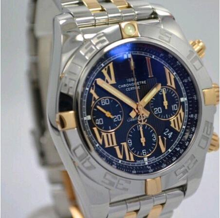 WOW ! Brand gift box Factory top quality Chronomat B01 CB0110 Gorgeous Black Roman Dial Watch Men's watch dress watches(China (Mainland))