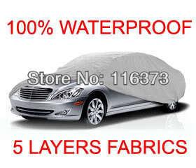 5 Layer Car Cover Fit Outdoor Water Proof Indoor VOLKSWAGEN PASSAT SEDAN 2002 2003 2004 2005(China (Mainland))
