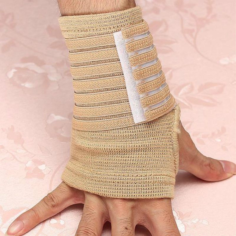 Elastic for Palm Wrap Hand Brace Support Wrist Sleeve Band Gym Sports Training Guard(China (Mainland))