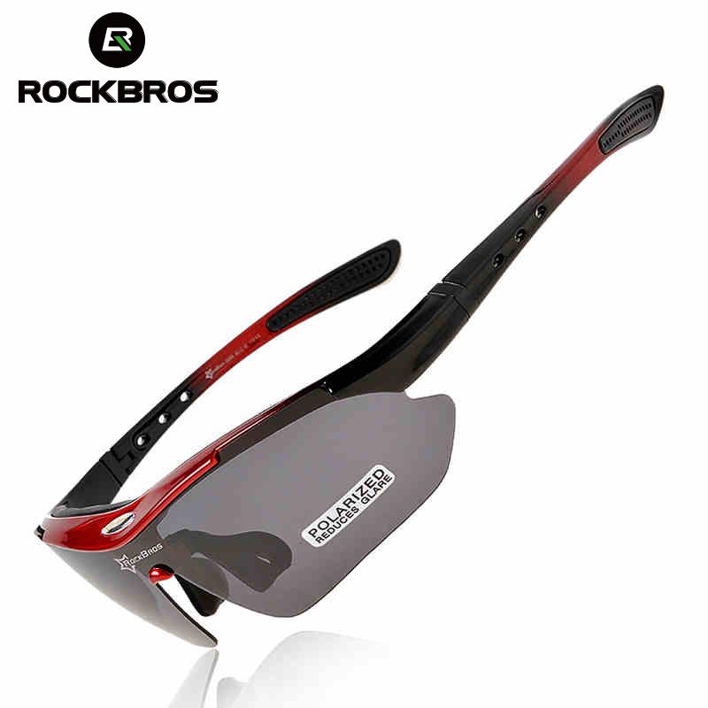 RockBros Polarized Cycling Bike Sun Glasses Outdoor Sports Bicycle Bike Sunglasses TR90 Goggles Eyewear 5 Lens Bicycle Accessory(China (Mainland))