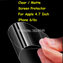 New HD Clear / Anti-Glare Matte Screen Protector For Apple 4.7 Inch iPhone 6/6S Protective Film Guard With Cleaning Cloth
