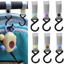 New Plastic Baby Stroller Pushchair Car Hanger Hook Strap Multi Purpose(China (Mainland))
