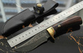 The tool of outdoor manual edition M2 Damascus knife steel of Damascus small gift knife
