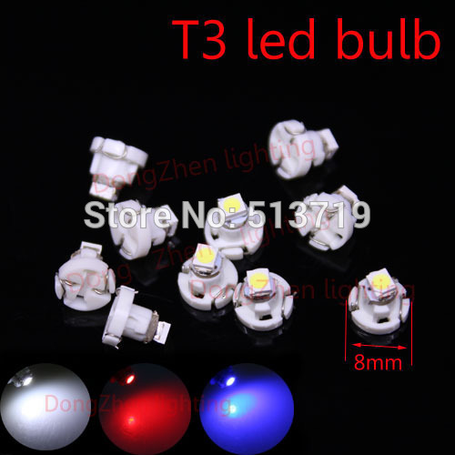 1X T3 1 SMD car 12v Neo Wedge LED Bulb Cluster Instrument Dash Climate Base Light auto led xenon white<br><br>Aliexpress
