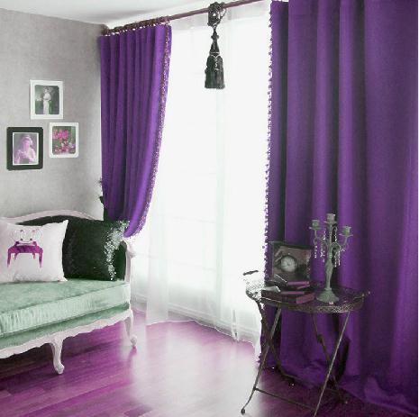 Purple Curtains For Bedroom Living Room Blackout Curtains Cortina Bedroom Screen Curtains For Living Room