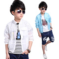 2016 Boys Jackets Kids Coats Outdoor Big Boys Bomber Jacket Sun Protection Clothing Spring Summer 3