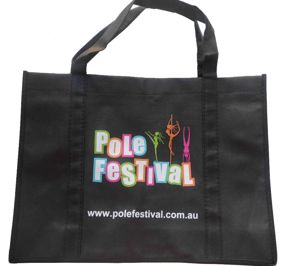 Heat transfer picture on non woven bag  for advertisement<br><br>Aliexpress