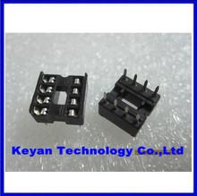 Free shiping 60PCS 8pin DIP IC sockets Adaptor Solder Type 8 pin(China (Mainland))