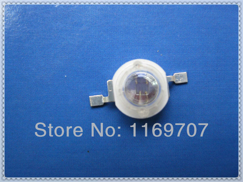 {20pcs/lot Free ship} High Power LED 3W Red 850NM Diode Infrared 45Mil Big Epistar Chip 3W Security LED 700mA-1000mA(China (Mainland))
