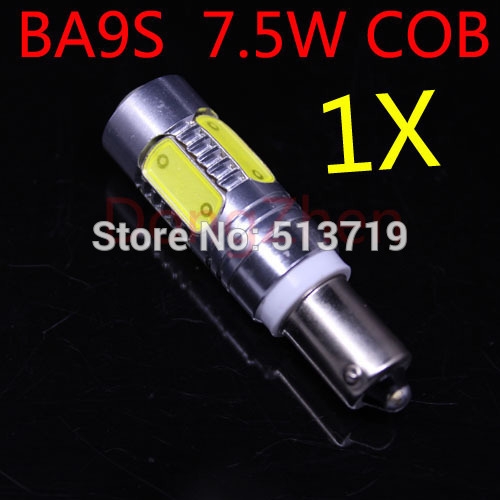 1X T11 BA9S 7.5W White 5cob 12V Car Light Bulb Lamp 1895 57 T4W 182 1445 6253 H6W 53 Indicator License Plate Map Dome