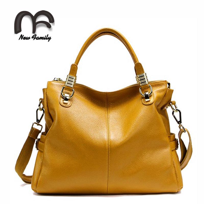 top selling women 100% genuine leather handbag all-match fashion cowhide leather woman handbag lady messenger bag free shipping<br><br>Aliexpress