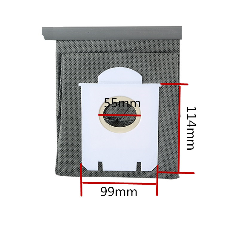 New Arrival Vacuum Cleaner Bags Dust Bag Replacement For Philips FC8134 FC8613 FC8614 FC8220 FC8222 FC8224 FC8200(China (Mainland))