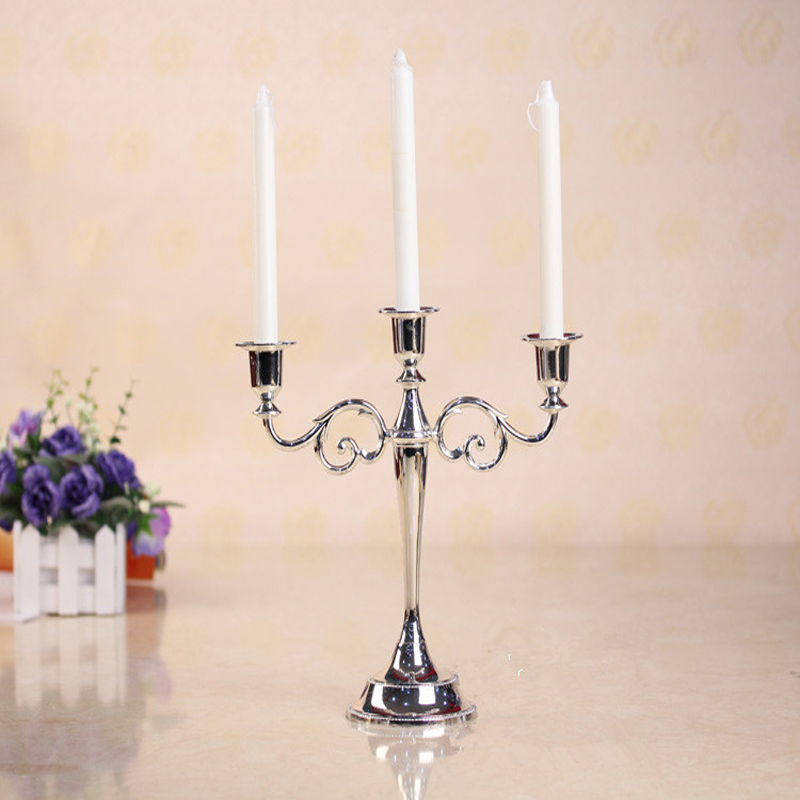 Luxury candelabrum european hotel candelabra wedding candle holder for party gifts home hotel decoration candlestick table lamps