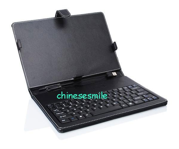 Leather Flip Case cover + USB Keyboard Cover case for CHUWI Vi10 10.6 inch(China (Mainland))