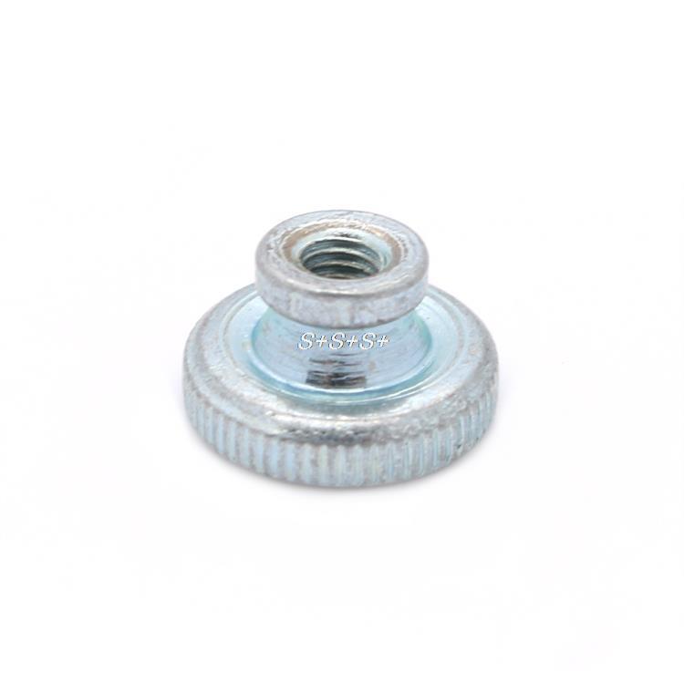 3D Printer Parts Wholesale 10pcs/lot Decorative Cap Nuts 3D Printer kit Press Nuts Heating Bed Adjustment Screw Nut M3(China (Mainland))