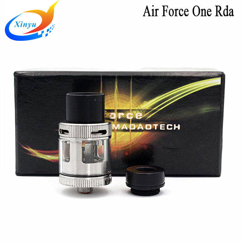 2pcs Authentic Air Force One RDA PEEK Insulator with Top Airflow control Dripper e cigarette Atomizers 510 huge vapor rda E Cig(China (Mainland))