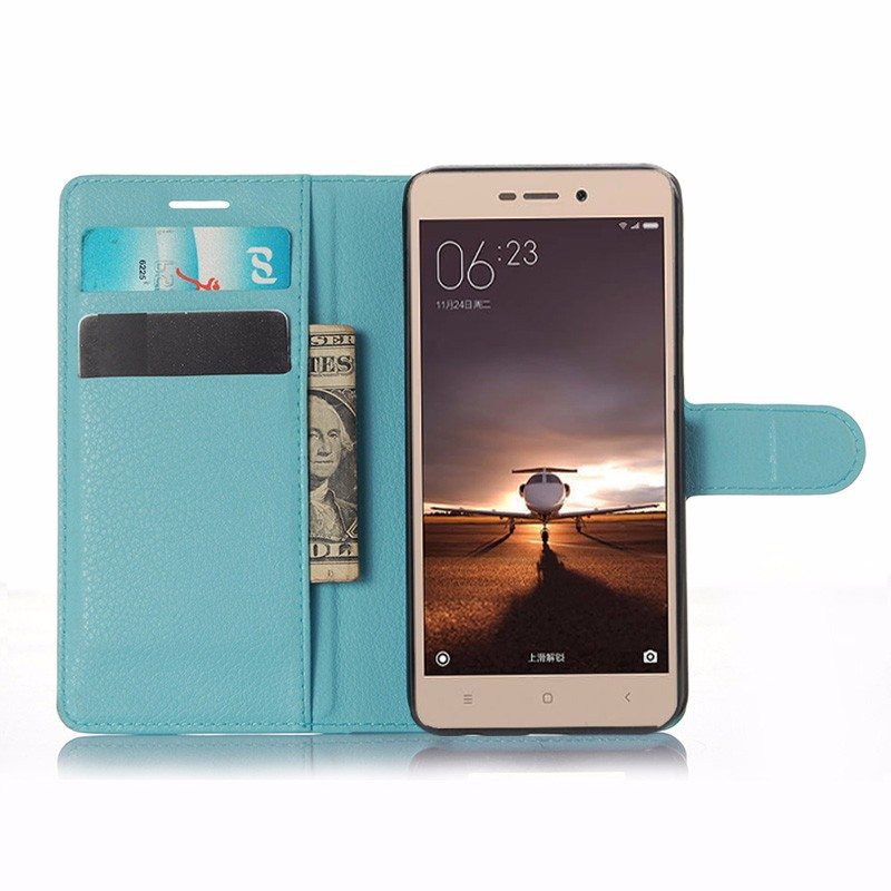 For Xiaomi Redmi 3 Pro Case 5.0 Wallet PU Leather Back Cover Case For Xiaomi Redmi 3 Redmi3 Pro Case Flip Protective Phone Bag (8)