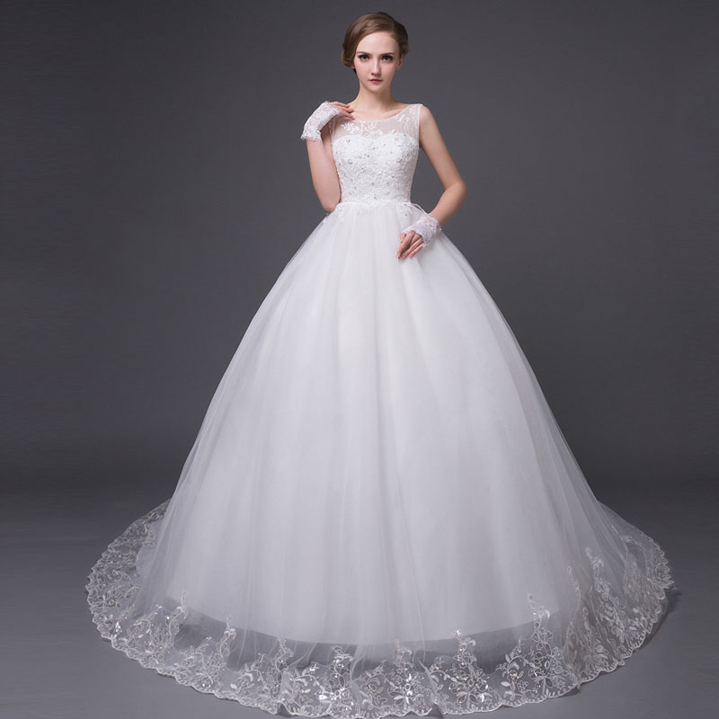 new style sexy lace wedding dress ball gown wedding gown