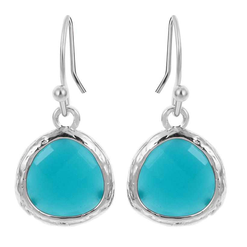 10pair colorful earrings beautiful sky blue