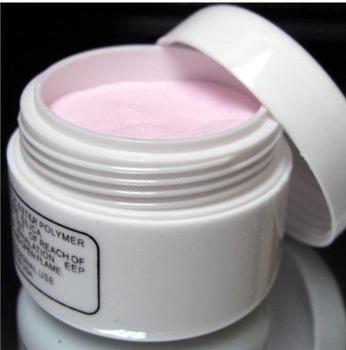 Acrylic Pink Nail Art Tips Crystal Polymer Powder(China (Mainland))