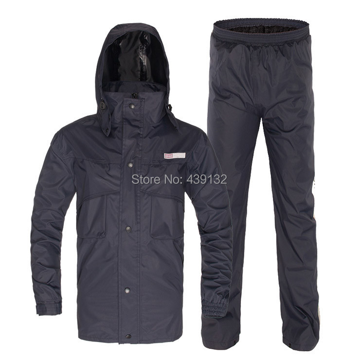 Top quality heavy raincoat outdoor wind resistant jacket for Rain suits for fishing