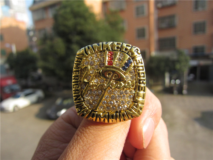 Free Shipping MLB 2003 New York - Yankess Championship Ring Replica Size 11 Size 11 solid Boy Men Fan Gift Brithday gift(China (Mainland))
