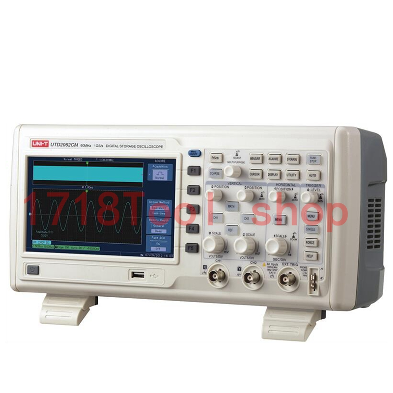 2015 Promotion Uni-T UTD2062CM 1G Digital Storage Oscilloscope 60MHz <br><br>Aliexpress