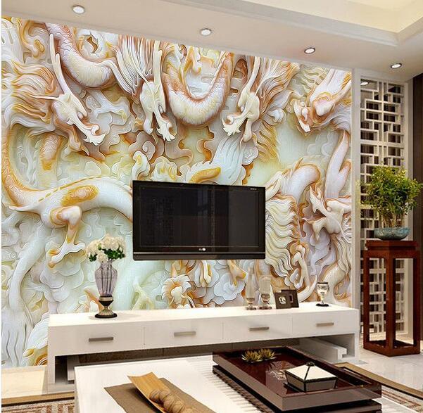 Compra murales de pared del drag n online al por mayor de - Murales de pared 3d ...