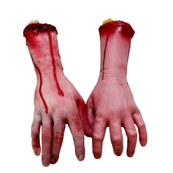 free shipping halloween  shock toys terrible props The simulation with the blood hand