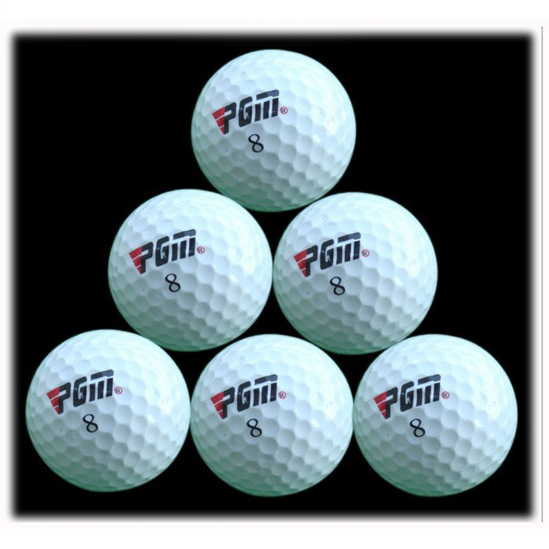 PGM Outdoor Sport Golf Game Training Match Competition Rubber Three Layers High Grade Golf Ball White(China (Mainland))