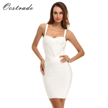 Buy Ocstrade Free Women Summer Dress 2017 Ladies Casual Clothes Spaghetti Strap Rayon Bodycon Yellow Bandage Dress Red for $30.78 in AliExpress store