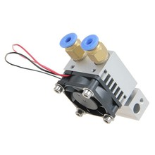 0 3 0 35 0 4 0 5MM Dual Head Dual Nozzles MK8 Extruder for