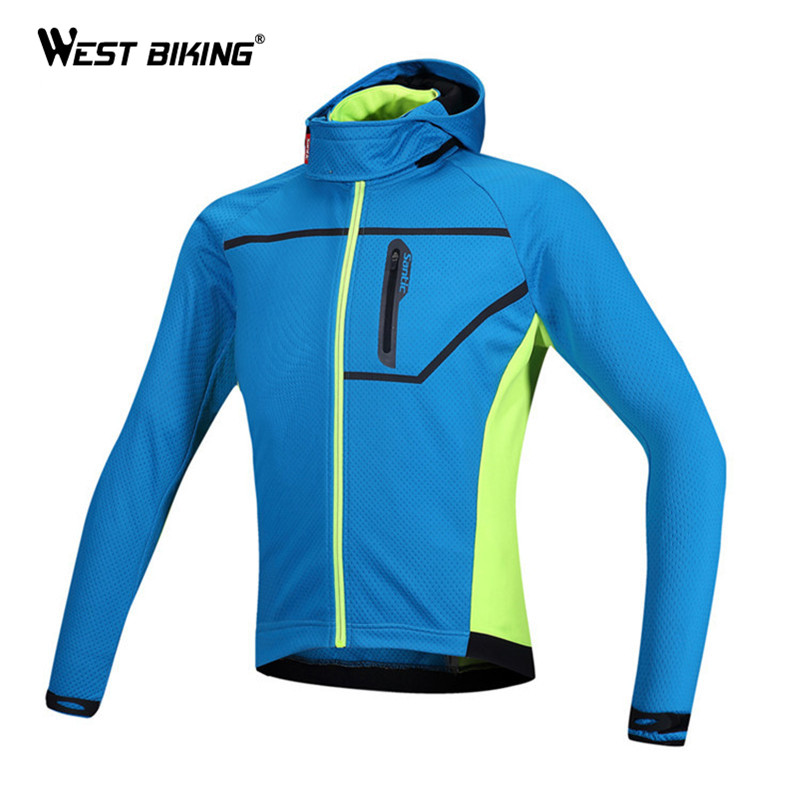 Ropa Ciclismo Winter Cycling Clothing Windproof Thermal Fleece Outdoor Sports Hooded Jacket MTB Road Bike Bicycle Cycling Jersey<br><br>Aliexpress