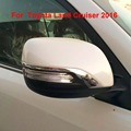2016 Rearview Side Mirror Cover Trims For Toyota Land Cruiser V8 LC200 Accessories