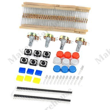 Гаджет  Universal Parts UNO Kit Generic Parts Package For Arduino Kit   Free shipping None Электронные компоненты и материалы