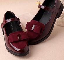 Дети принцесса кожаные ботинки PU 3 цвета вскользь детские розовый цветок девушки модный бренд обуви ninos бесплатная доставка 668(China (Mainland))