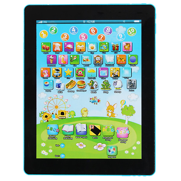 New Y pad English Language Computer Learning Machine for Children(China (Mainland))