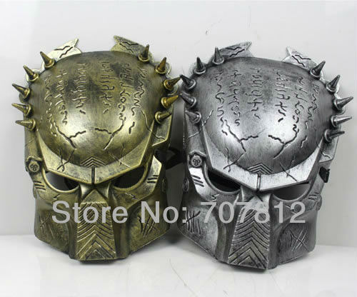 2013 new arrival 10pcs Aliens vs Predator  mask Anonymous mask Halloween carnival party mask brand new with free shipping