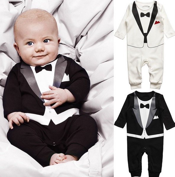 Hot sale Spring Autumn baby clothing Sets Romper Gentleman baby boys clothes toddler clothes suits t shirt pants baby sets 0-24M(China (Mainland))