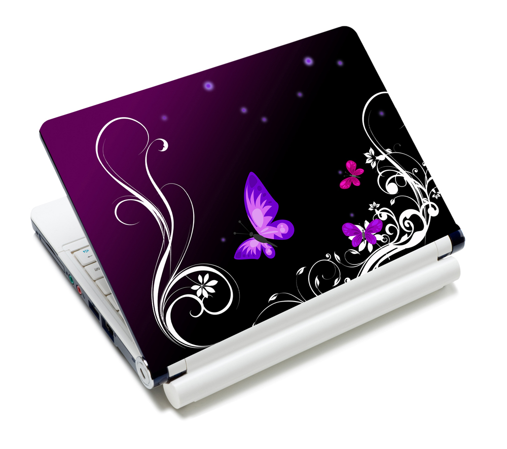 """Purple Protective Durable 10"""" 10.1"""" 10.2"""" Inch Mini Notebook Laptop Cover Netbook Sticker Skin Dust-proof(China (Mainland))"""