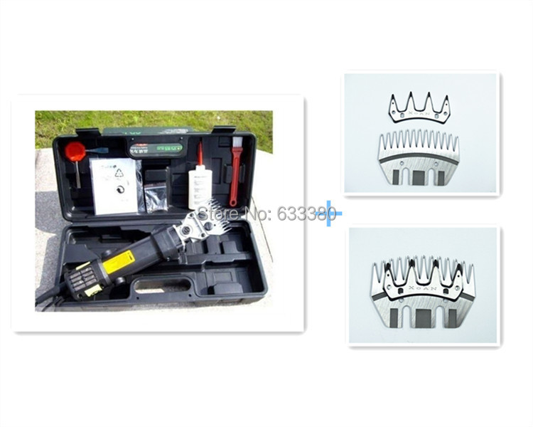 New 350W Electric Sheep / Goats Shearing Clipper Shears +2straight tooth blade + comb<br><br>Aliexpress