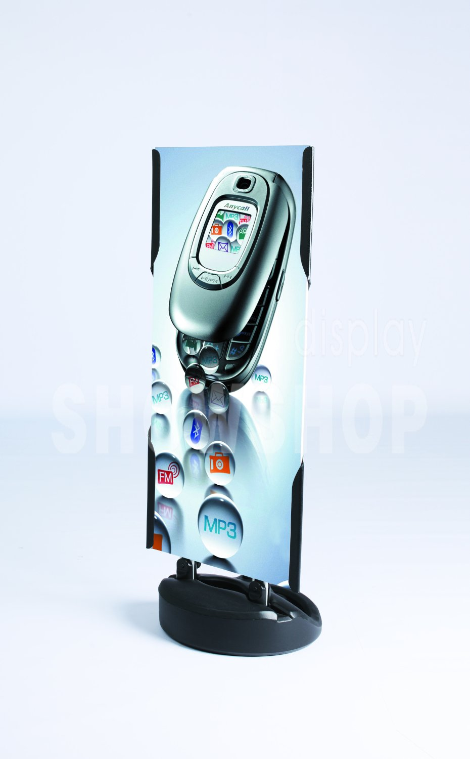 Water Tank Base Holder Outdoor advertising display exhibit Banner Stand, Without the board