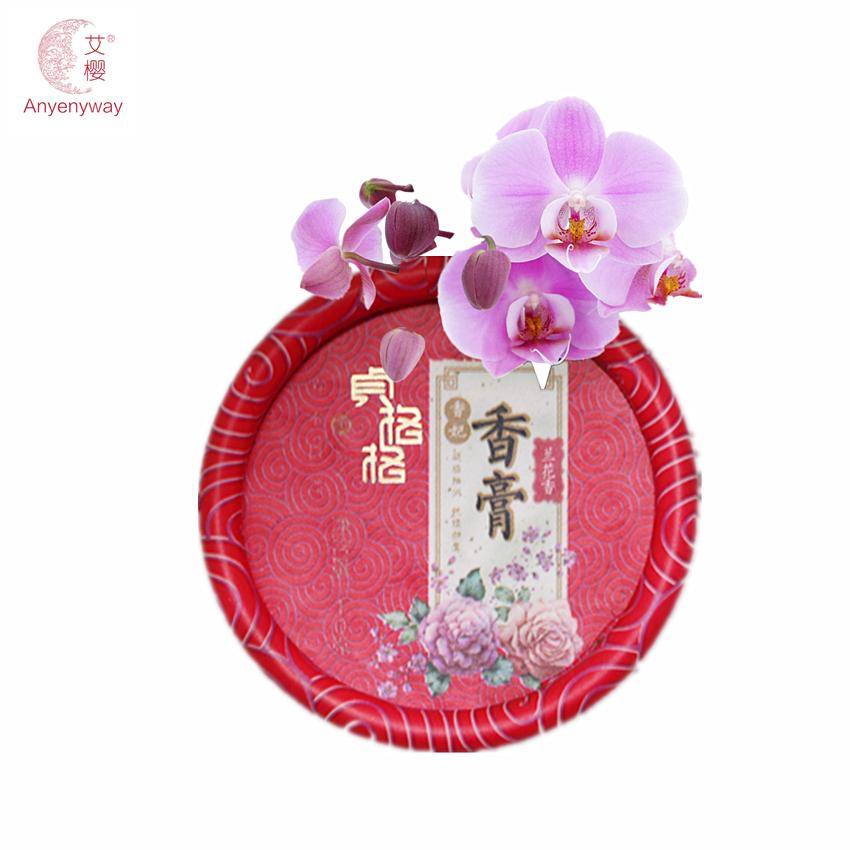 Orchid Balsam Brand Original Fragrance for Women Deodorant Parfum Solid Nourishing Skin Care Long-lasting Perfume Free Shipping(China (Mainland))