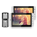 FREE SHIPPING Home Wired 7 inch Color TFT Touch Video Doorphone Intercom Kit Set With 2